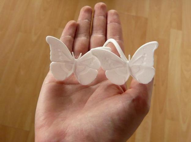 Butterfly Light Shade 3d printed Shown for size