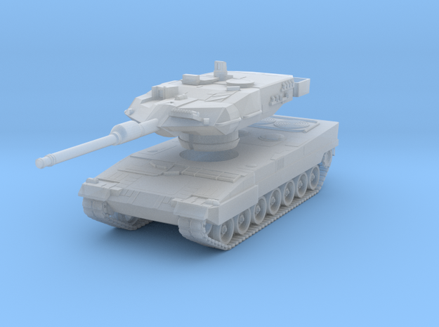 Leopard 2a7 1:220 in Smooth Fine Detail Plastic