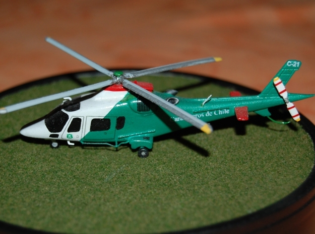 011A Agusta A109 1/144 in Frosted Ultra Detail