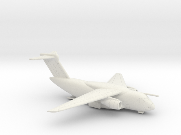 022F KC-390 1/350 WITH OPEN RAMP in White Strong & Flexible