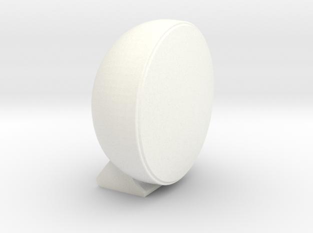 CIBIÉ RALLYE LAMP 1:12 scale rallye light in White Strong & Flexible Polished