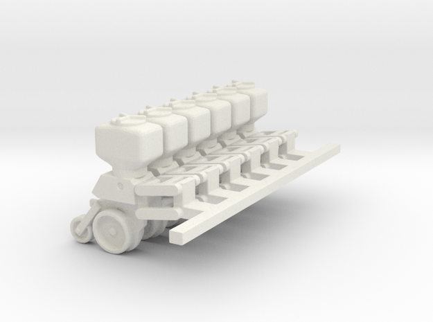 5100 6 units with parallel arms 3/4 down position  in White Natural Versatile Plastic