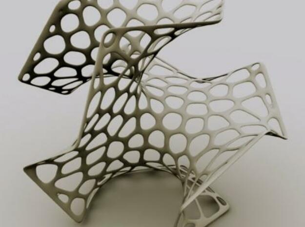 Voronoi Dodec.18cm - 50$ 3d printed Description