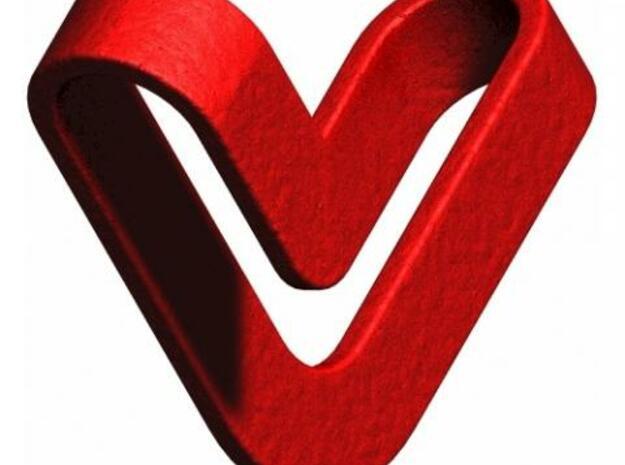 Reutersvard Heart 3d printed