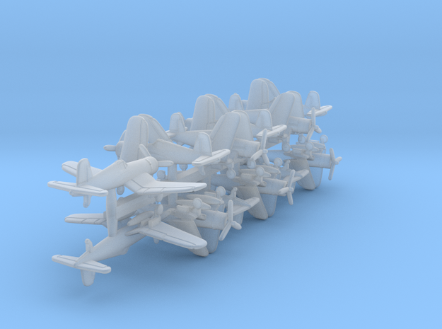 1/600 F4U-1A w/gear x12 (FUD)