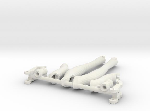 Small legs for the little Vajra in White Natural Versatile Plastic