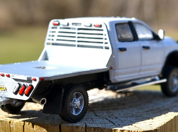 Flatbed in Frosted Ultra Detail