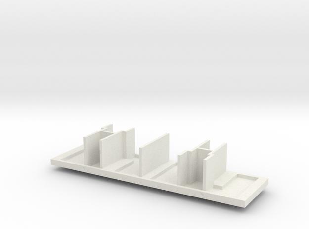 Inneneinrichtung I.-II. Kl..stl in White Natural Versatile Plastic