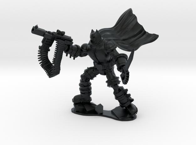 The Dark Knight in Armor in Black Hi-Def Acrylate