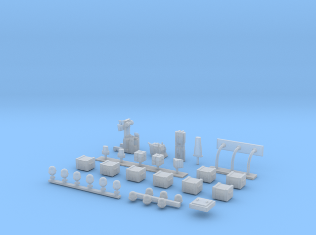 Docking Bay Partial set, 1:144 in Smoothest Fine Detail Plastic