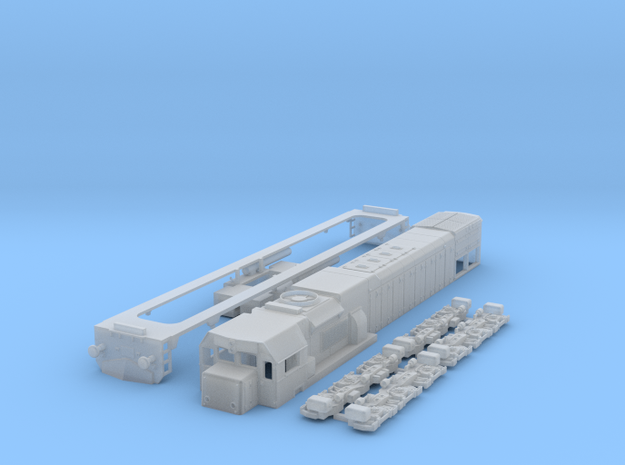 G26HCW-2 N Scale in Smooth Fine Detail Plastic