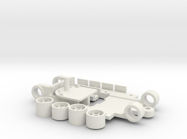 Mini V5BB in White Natural Versatile Plastic