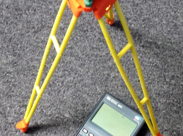 Wild GST30 1/4th scale kit instrument legs 3d printed Dyed w/ 1/4 scale T3 Dyed