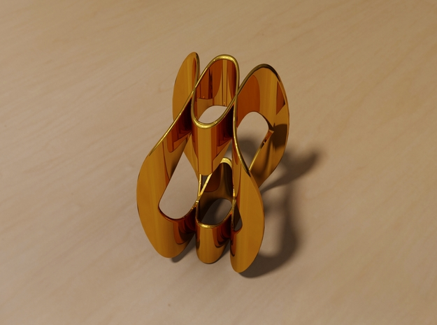 The Wave Ring in 14K Gold: 9 / 59