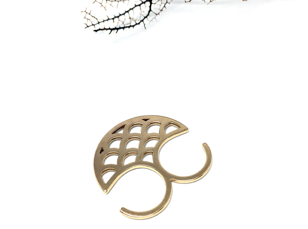 Mermaid double ring