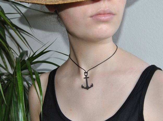 Anchor Elegant (From $16) in Matte Black Steel