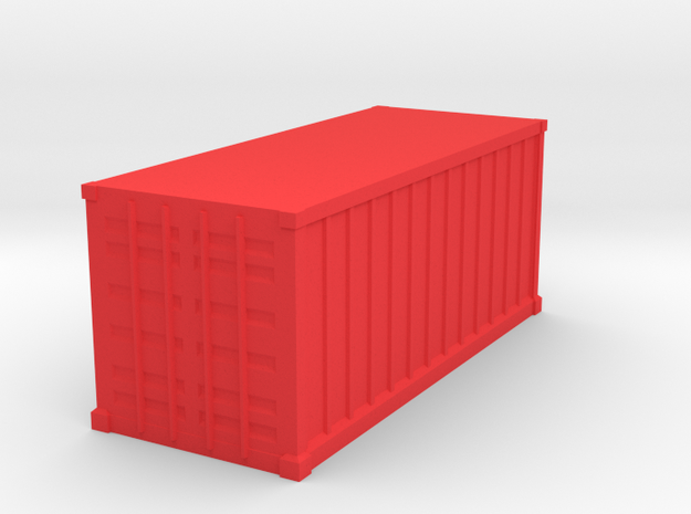 Shipping Container, Standard 20 foot (Hollow)