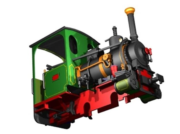 No. 173 1:32 16,5mm 3d printed CAD Model