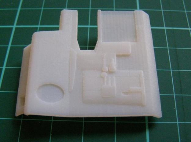 starboardside 3d printed starboardside white detail
