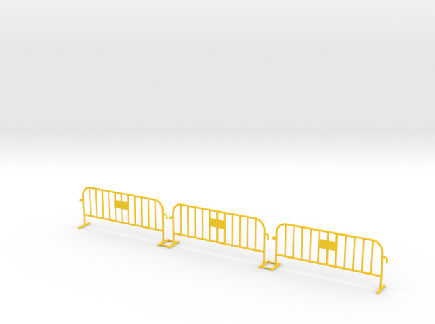 3x PACK 1:50 Small construction fence