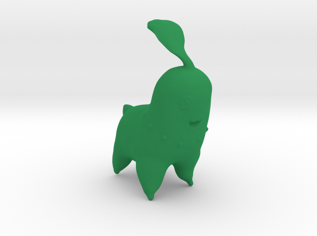 Chikorita in Green Strong & Flexible Polished