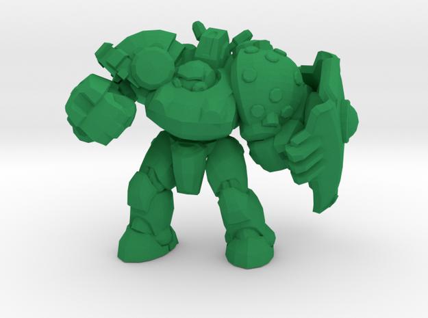 1/60 Marauder Captain in Green Processed Versatile Plastic