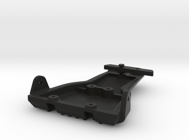 058014-01 Tamiya ORV Skid Plate, Front in Black Natural Versatile Plastic