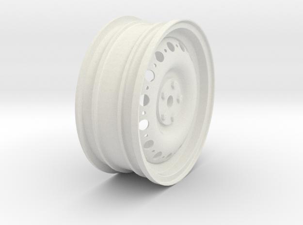DunlopWheel in White Natural Versatile Plastic