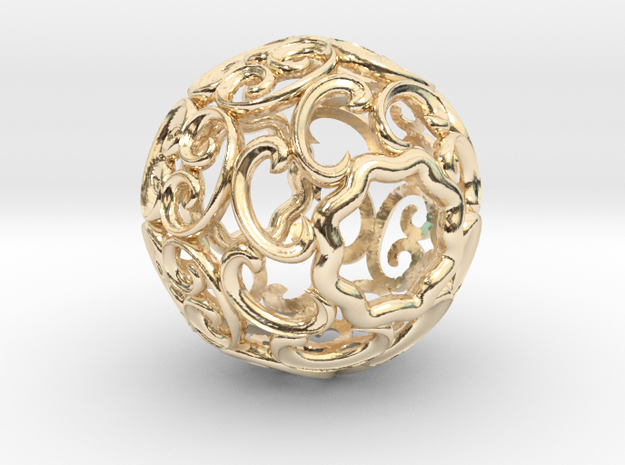 BEAD-01 in 14k Gold Plated