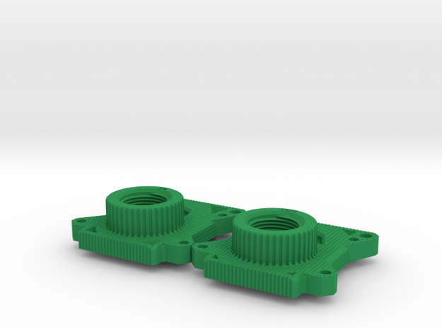 Gate Valve Body in Green Strong & Flexible Polished