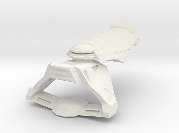 Freelancer Bretonia Destoryer in White Natural Versatile Plastic