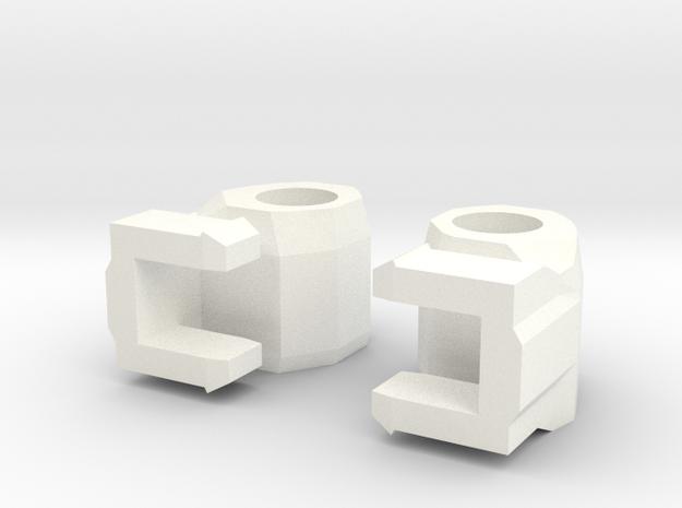 CW Magnus 5mm Hands Set  in White Processed Versatile Plastic