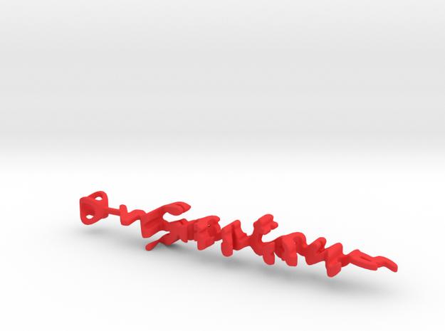 Twine Gaston/Mathilda in Red Processed Versatile Plastic
