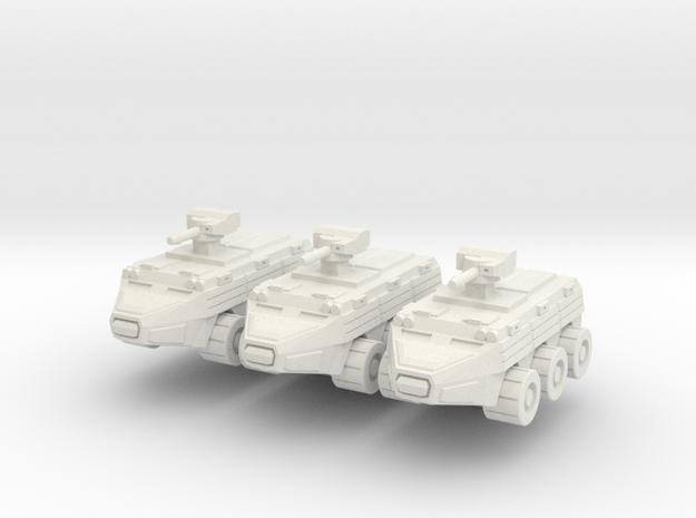 TOTEM APC Squadron in White Natural Versatile Plastic