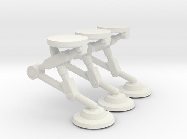 Adamski Gear Set in White Natural Versatile Plastic