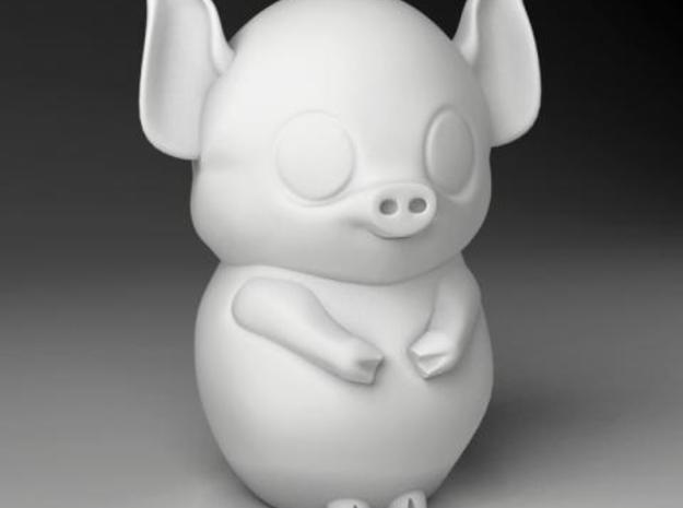pig_zodiac  in White Natural Versatile Plastic