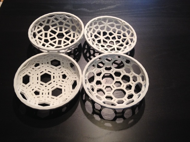 Tabletop Joy- Topology permutations 3d printed