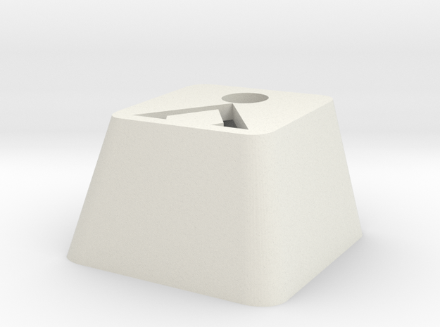 Earth Glyph Cherry MX Surround in White Natural Versatile Plastic