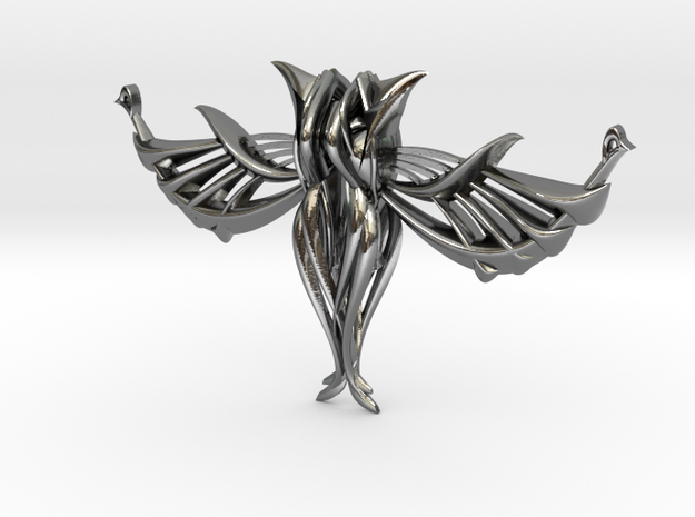 Sold Egyptin Wingsduminica  in Polished Silver