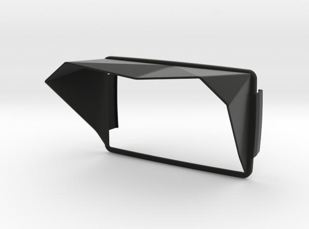 Sunshade (Clip-On) for BMW Navigator 6 in Black Natural Versatile Plastic
