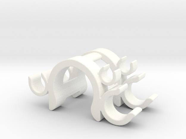 Beta Xtrainer Tool Holder Plus in White Processed Versatile Plastic