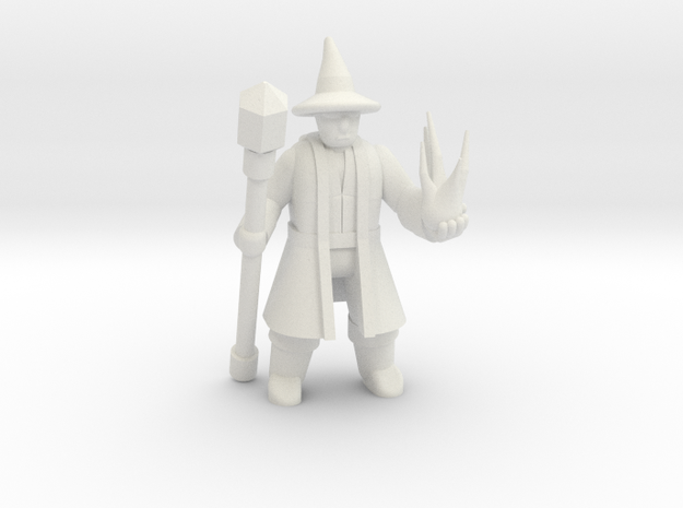 General Wizard Mini (Staff and Spell)