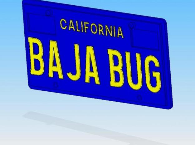 Baja_Bug 3d printed Description