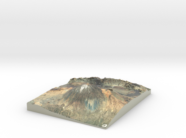 Pico del Teide Map, 1:45,000 in Coated Full Color Sandstone