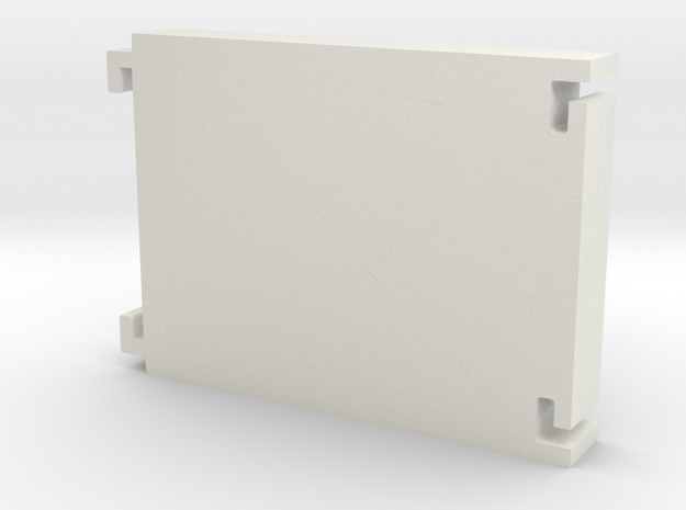 3-Bay Modular HDD Caddy in White Natural Versatile Plastic