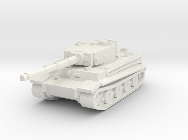 Tiger 1 160 in White Natural Versatile Plastic