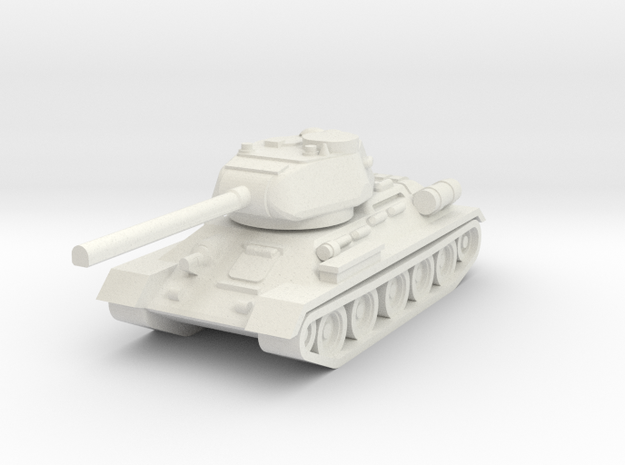 T34-85 1/160 in White Natural Versatile Plastic