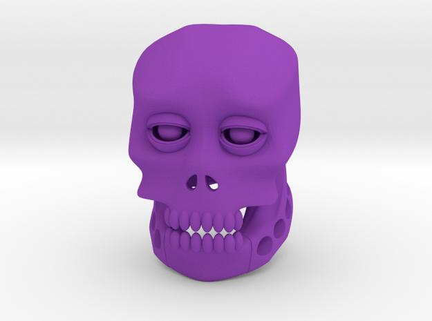 SKUL in Purple Strong & Flexible Polished