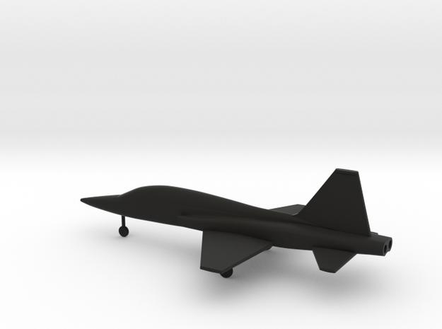 Northrop T-38 Talon in Black Natural Versatile Plastic: 1:160 - N