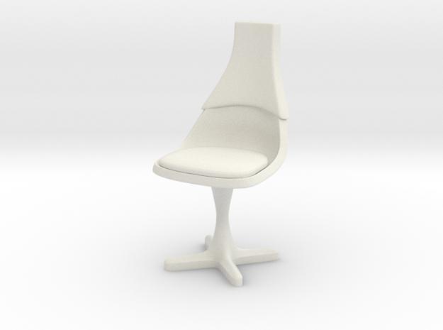 TOS Bridge Chair Ver. 1.5 1:30 MM in White Natural Versatile Plastic